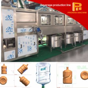 Automatic 5 Gallon Recycle Type Bottle Pure Water Filling Machine pictures & photos