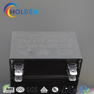 Cbb61 Capacitor for Ceiling Fan (CBB61 225J/450VAC TB35) pictures & photos