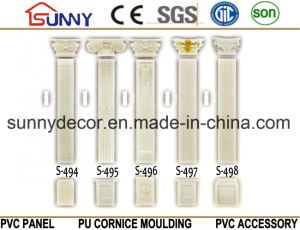 Polyurethane Roman Column/ Gypsum Roman Column/PU Roman Column pictures & photos