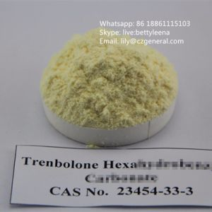 Yellow Hormone Steroid Powder Trenbolone Hexahydrobenzyl Carbonate pictures & photos