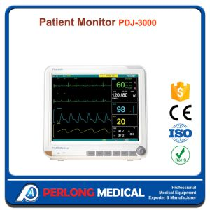 Hot Sell Stylish Design Pdj-3000 Portable Patient Monitor with Ce pictures & photos