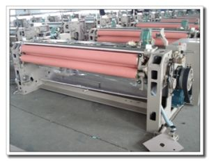 Four Nozzle Double Pump Water Jet Weaving Loom with Etu+Elo pictures & photos