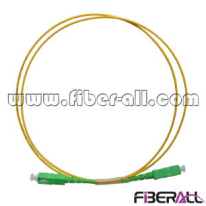 Sc/APC Optical Fiber Patch Cord Sm Simplex 2.0mm pictures & photos