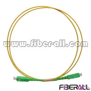 Sc/APC Optical Fiber Patch Cord Sm Simplex 2.0mm pictures & photos