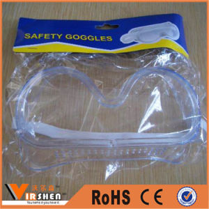 China Anti Fog and UV Protection Surgical Safety Goggles Industry Disposable Safety Glasses pictures & photos