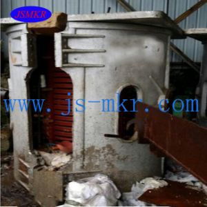 Used Non-Ferrous Medium Frequency Induction Melting Furnace for Aluminum pictures & photos