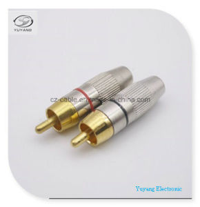 RCA Plug/Adapter for RCA/AV/Audio Cable pictures & photos