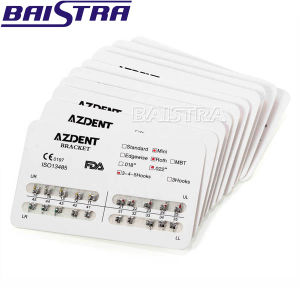Azdent Standard Roth Slot 018 Hooks 345 Orthodontic Metal Bracket pictures & photos