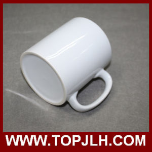 Customed Printing Blank Coated 11oz Porcelain White Cups pictures & photos