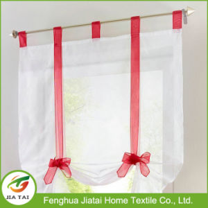 New Design Cute Red and White Kitchen Curtains in Kitchen pictures & photos