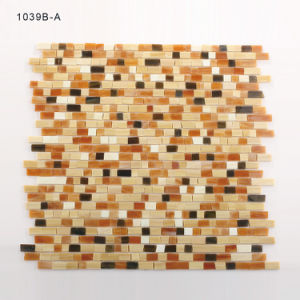 Nature Multi Color Building Material Backsplash Suppliers Glass Tile Mosaic pictures & photos