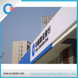 Advertising Solid Polycarbonate Board Clear White Polycarbonate Solid Sheet pictures & photos