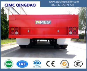 Cimc 20FT 40FT Container Semi Trailer Flatbed and Skeleton Option Truck Chassis pictures & photos