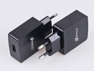 Qualcomm Quick Charge 3.0 Travel Charger QC3.0 USB Wall Charger pictures & photos