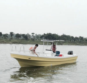 26D Fiberglass Luxury Panga Fishing Boat for Sale pictures & photos