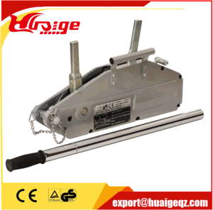 Ce GS Approvaled Manual Handle Wire Rope Pulling Hoist pictures & photos