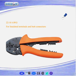 Hand Crimping Plier for Insulated Terminals and Butt-Connectors pictures & photos