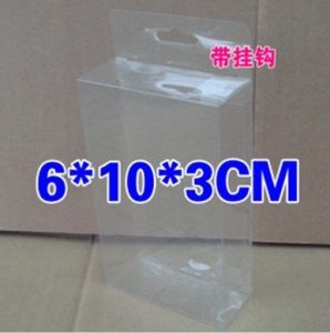 High Quality Clear PVC Plastic Fold Packaging Box with Custom-Size pictures & photos