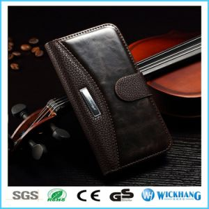 Luxury Leather Wallet Flip Case for Apple iPhone 6 7 Plus pictures & photos