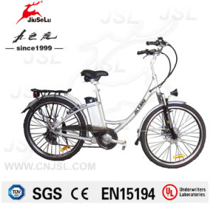 CE White 36V Lithium Battery LED Display City E-Bikes (JSL038XD-8) pictures & photos