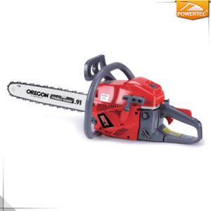 Powertec 41cc 1.4kw Gasoline Green Cut Chainsaw pictures & photos