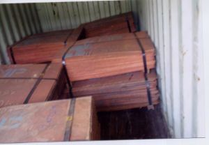 China Copper Suppliers Grade a Lme Registered Best Quality for Copper Cathode 99.99% Buyers pictures & photos