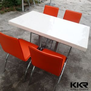 Modern Furniture 4 Seater Round Dining Table for Restaurant and Coffee Shop pictures & photos