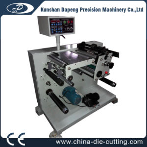 Mini Slitting Rewinding Machine for Paper/Film/Rubber pictures & photos