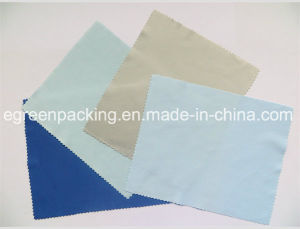 Microfiber Optical Cleaning Cloth (100%polyester 240-250GSM) pictures & photos