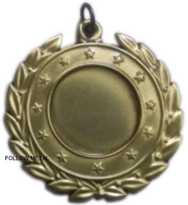 Blank Medal in The Middle for Sports Equipment