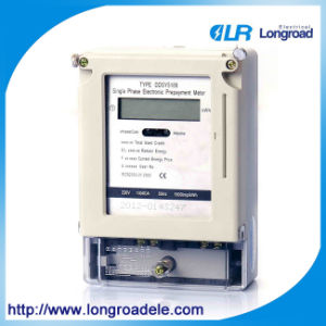 Model Dds686 Series Single Phase Electronic Type Prepaid Watt-Hour Meter(RS485/Modbus/ Infrared Communication pictures & photos