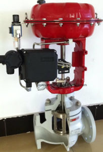 Pneumatic Single Seat Globe Control Valve pictures & photos