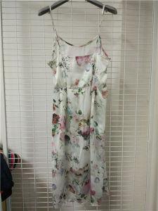 Floral Print Strap Women Dress pictures & photos