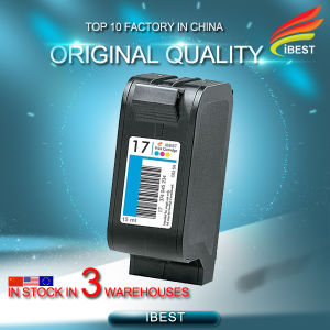 Hot High Quality Remanufactured Ink Cartridge for HP17 C6625A pictures & photos