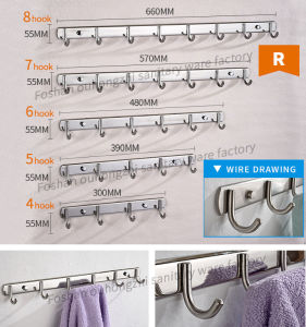 Simply Design Bathroom Clothes Hanger Towel Hook (S-R) pictures & photos