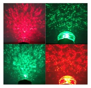 LED Double Color Red Green Kaleidoscope Motion Flame Water Wave Spotlight Projector pictures & photos