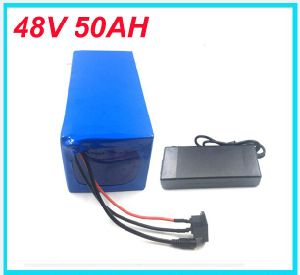 Ebike Battery 48V 50ah 2000W Electric Bike Battery 48V with 2A Charger, BMS Lithium Battery 48V Battery Pack pictures & photos