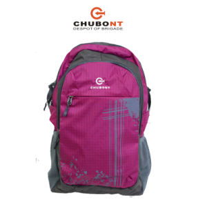 Chubont 2017new Green Color Polyester Backpack pictures & photos