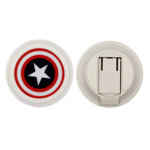 New Design Captain America Wireless Charger with Holder
