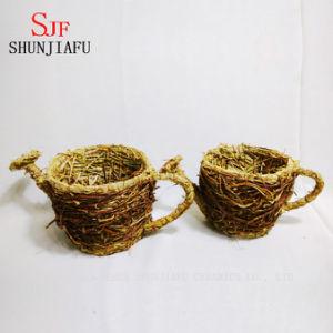Rattan Flower Pot pictures & photos