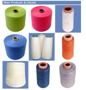 Hotsale Blended Linen Cotton Yarn for Knitting pictures & photos
