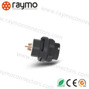 Raymo 102 Series Waterproof 2pin 3pin 5pin 6pin 7pin 9pin Circular Connector pictures & photos