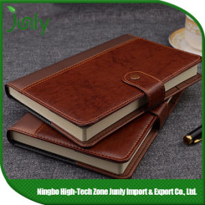PU Leather Notebook Wholesale Pocket Plain Kraft Notebook pictures & photos