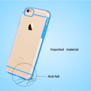 Hot Sales Colorful TPU Bumper with PC Back Phone Case for iPhone 6/6s/6 Plus pictures & photos