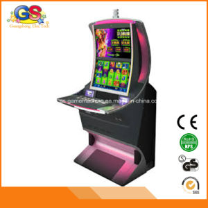 Arched Screen Gambling Arcade Skill Game Slot Machine Cabinet Sales pictures & photos