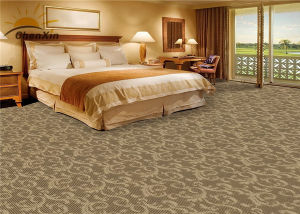 Axminster Machine Woven Commercial Floor Carpet 20% Nylon Blend Wall to Wall Rugs pictures & photos
