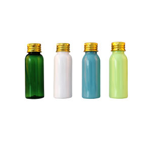 30ml Plastic Lotion Pet Cosmetic Bottle with Sprayer pictures & photos