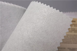 Gum Stay Nonwoven Interlining Chemical Bond Fabric 1025hf pictures & photos