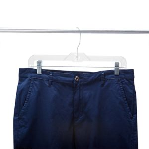 14 Inches Clear Plastic Pants Hanger (pH1401C-2) pictures & photos