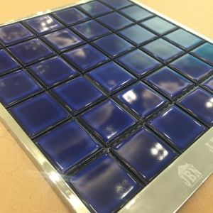 Dark Blue Color Glazed Porcelain Mosaic for Swimming Pool (C648011) pictures & photos